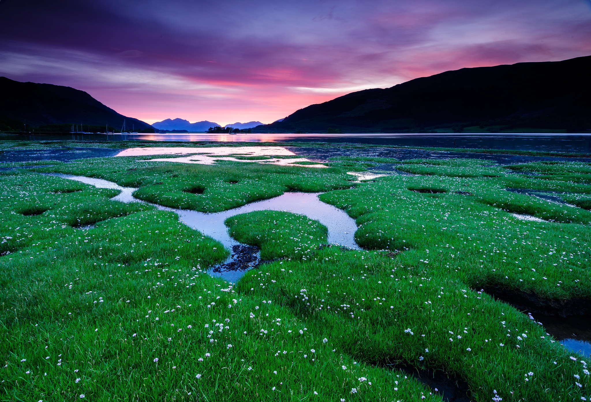 LOCH LEVEN SUNSET at Glencoe, United Kingdom