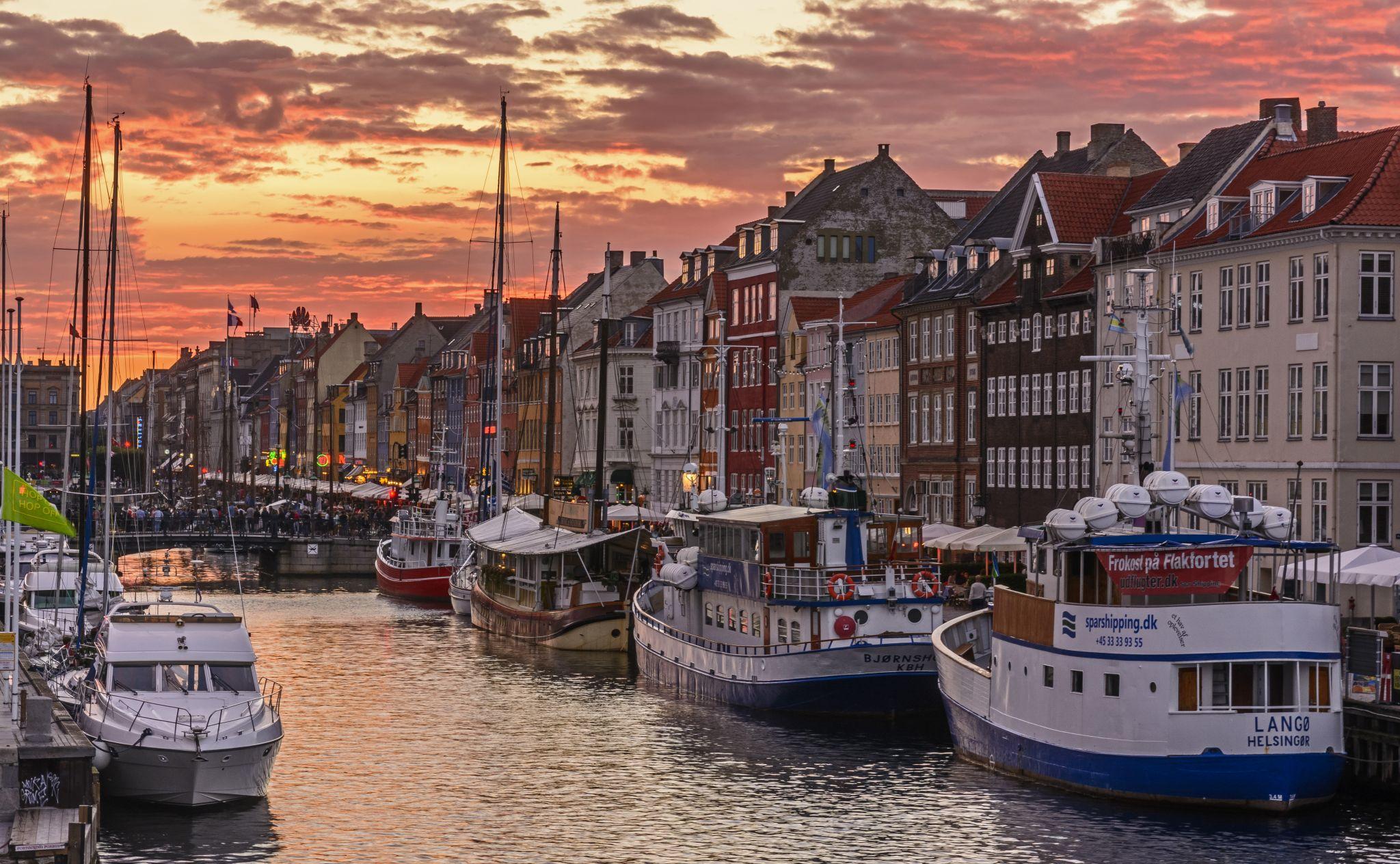 Nyhaven Sunset, Denmark
