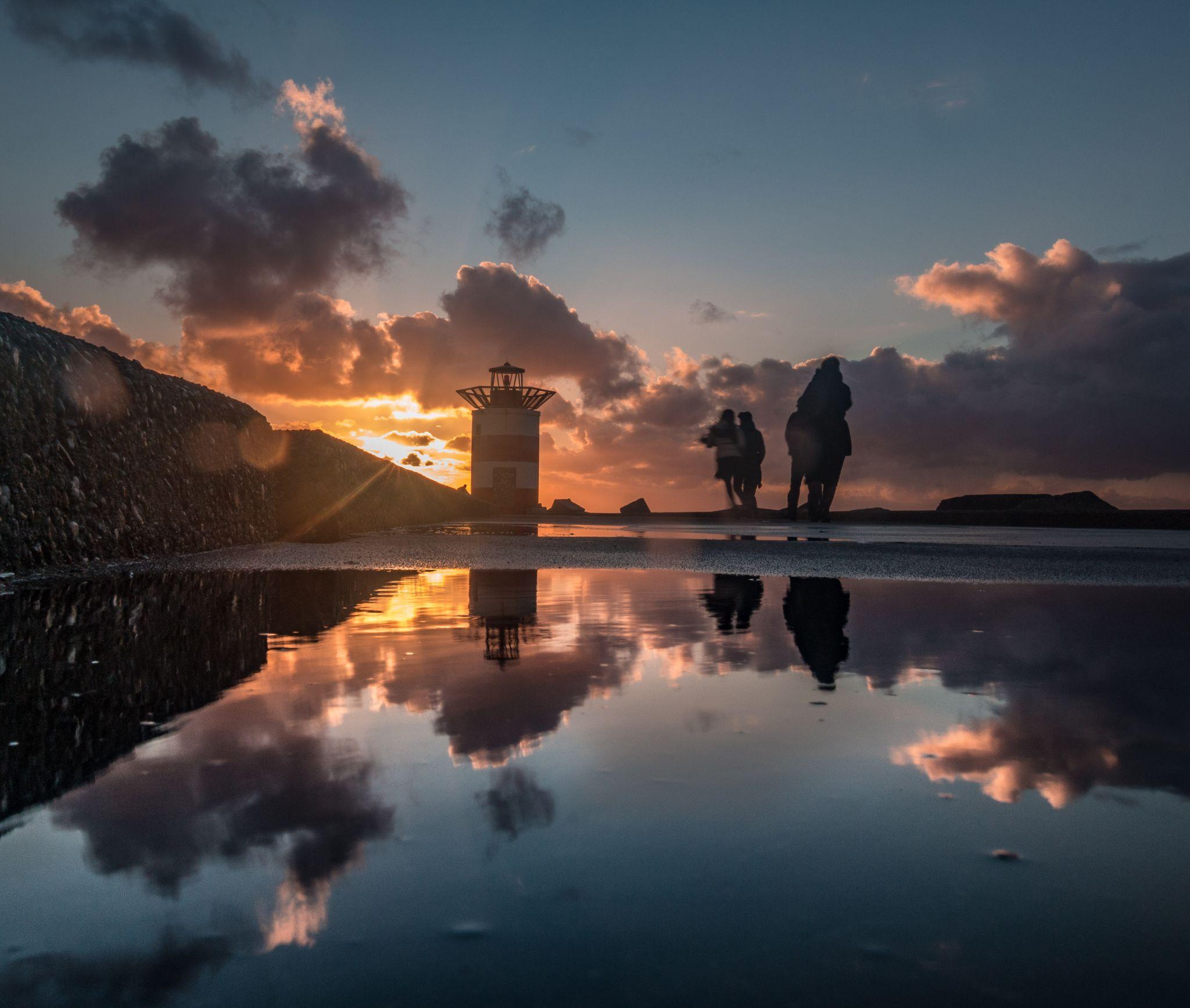 Scheveningen Port Lighthouse, Netherlands