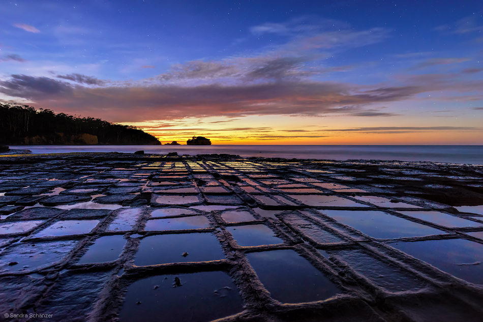 Tessellated Pavement, Tasman NP, Australia