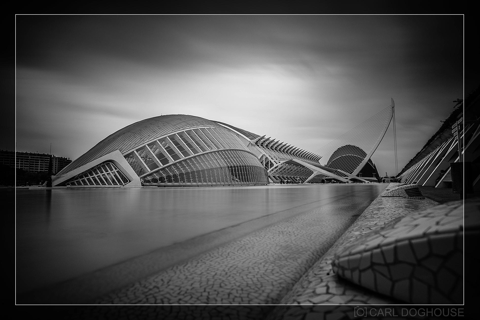 Arts and Science Centre, Valencia, Spain