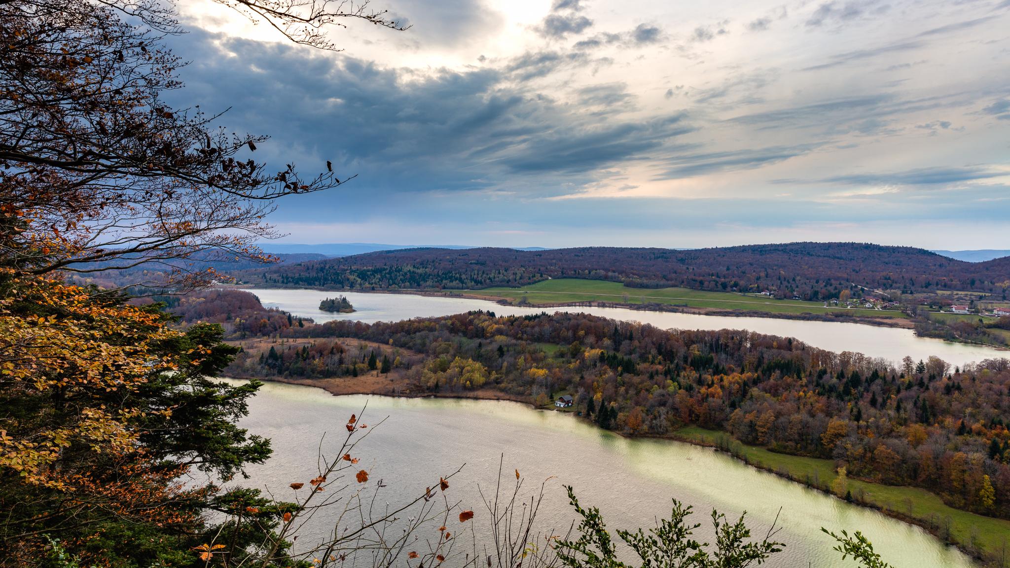 Belvédère des quatre lacs, Jura, Franche-Comté, France