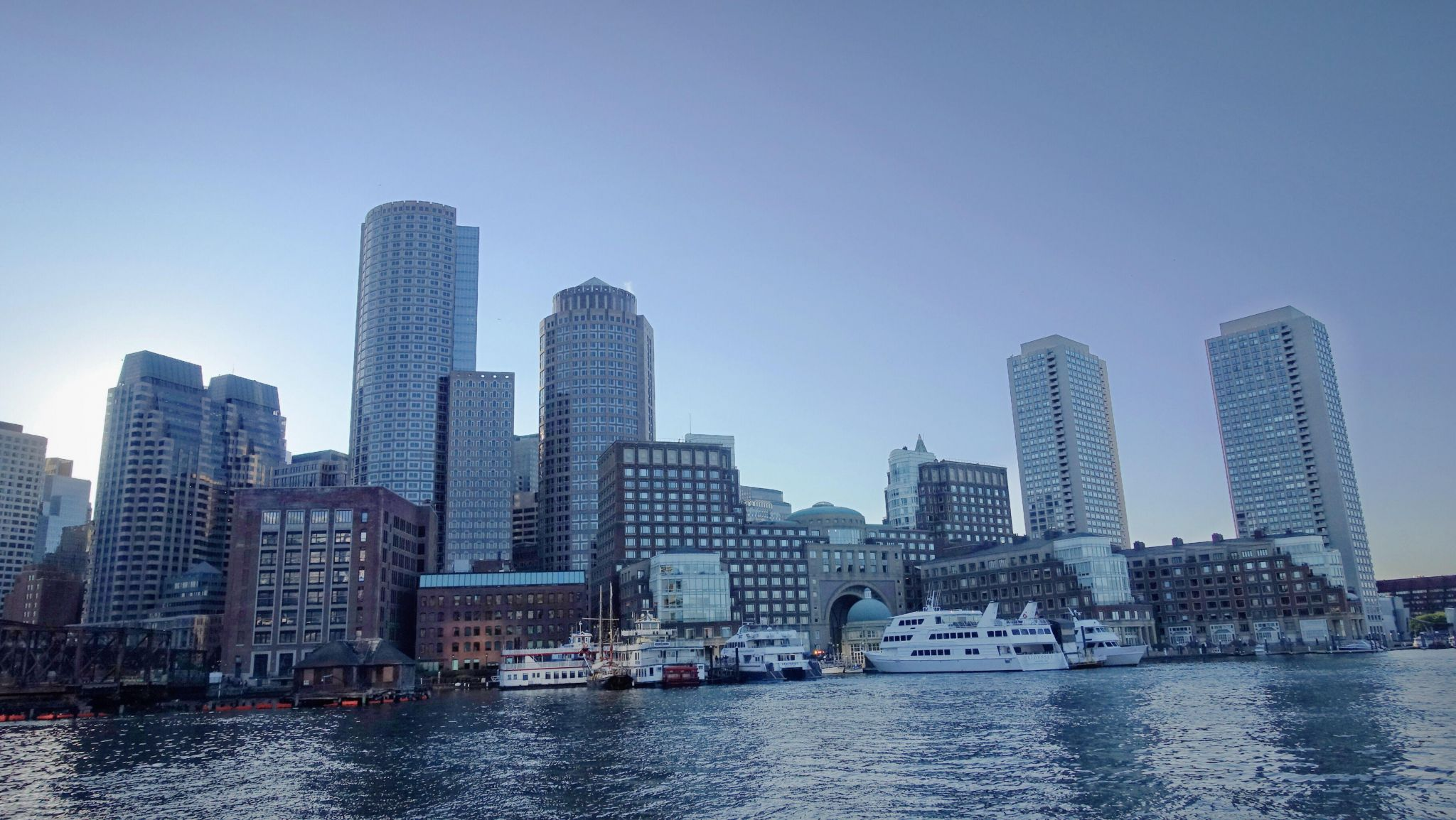 Boston  habour, USA
