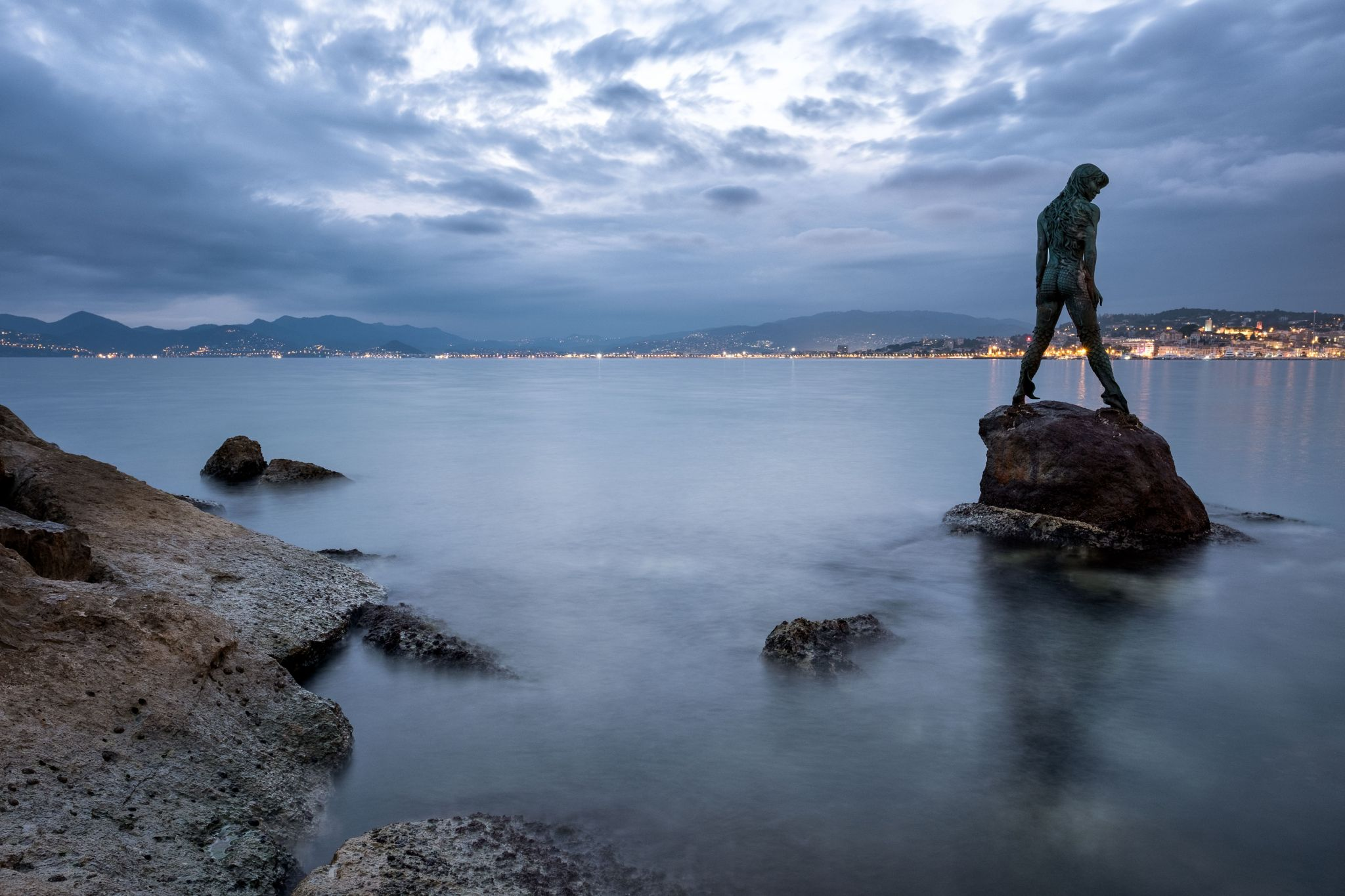 Cannes - port Pierre Canto, France