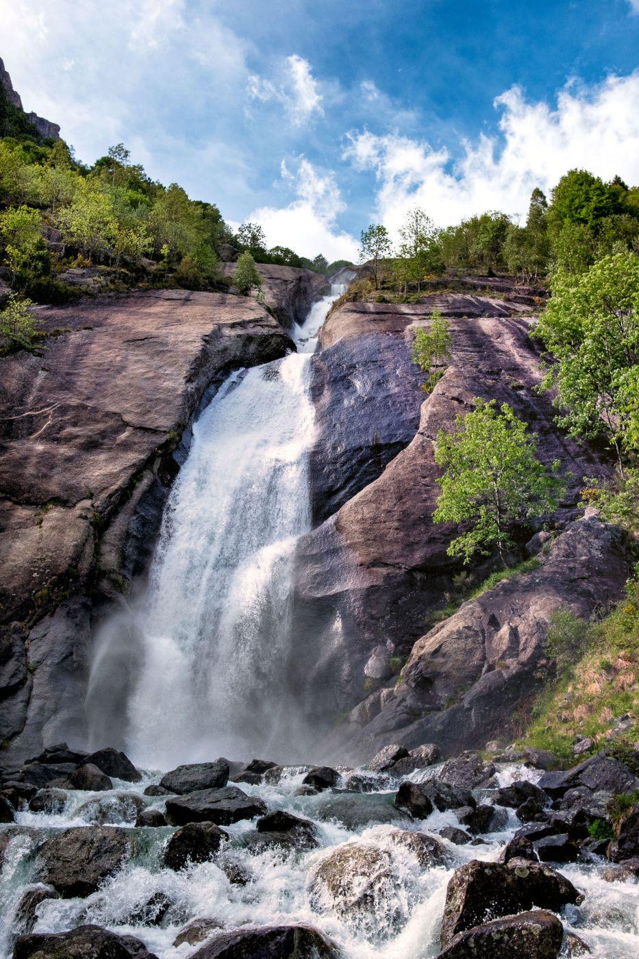 Cascata del Ferro (Iron Waterfall), Italy