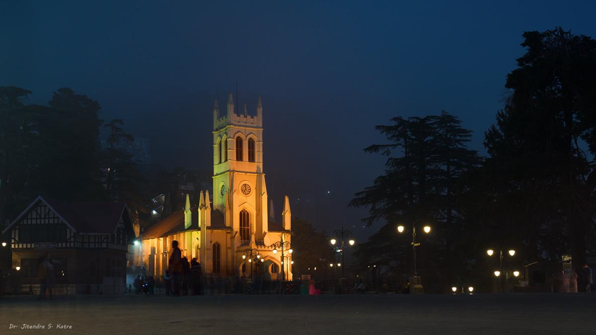 Church, Shimla, India