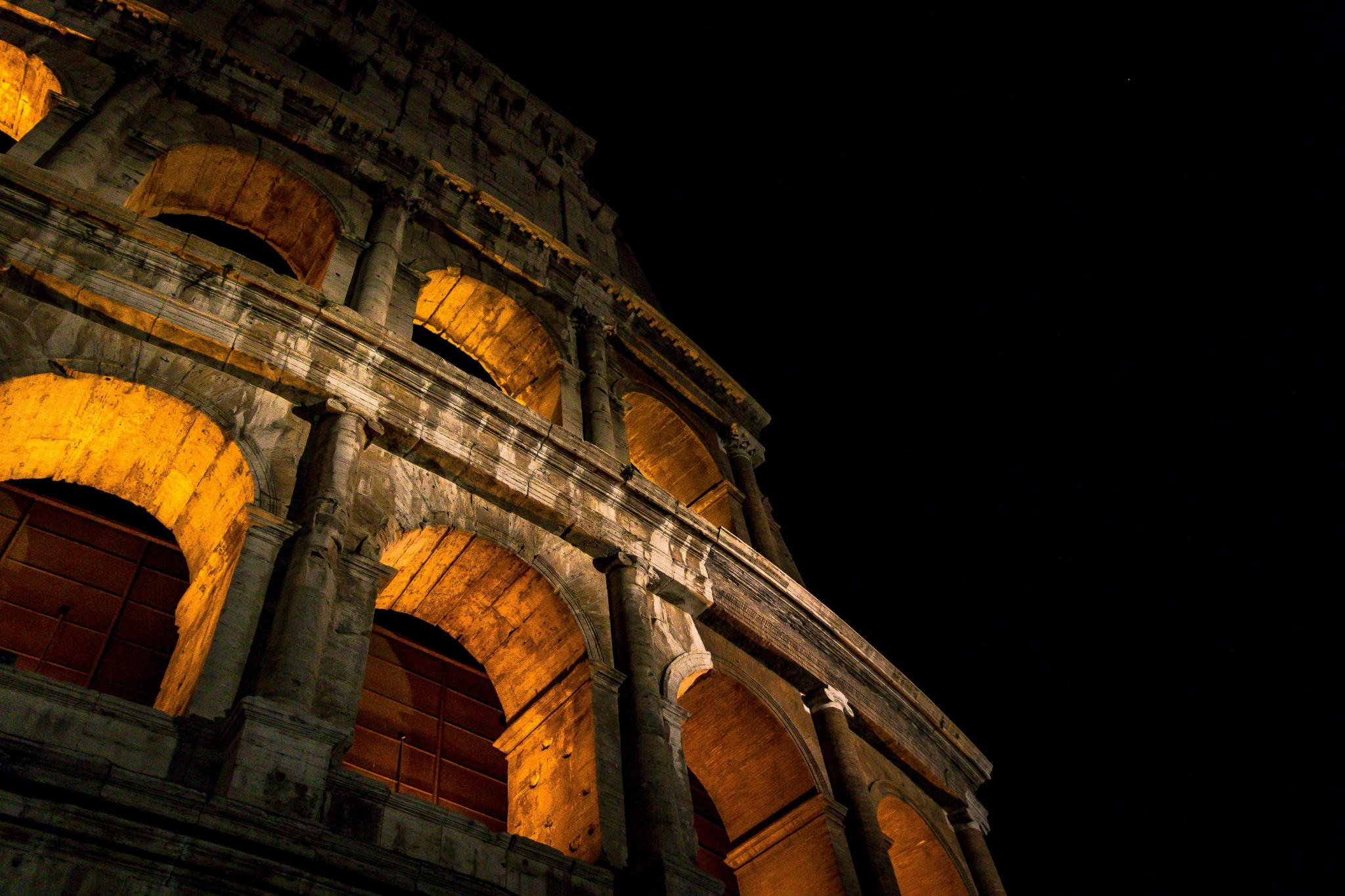 Colosseo at night, Italy