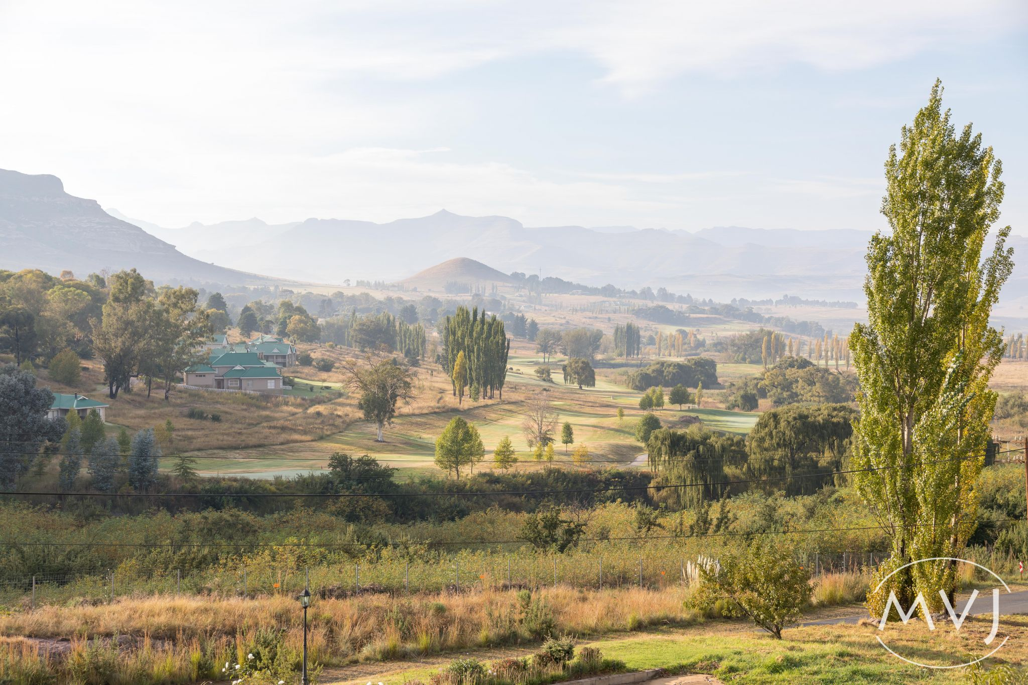 Early morning at Clarens, South Africa, South Africa