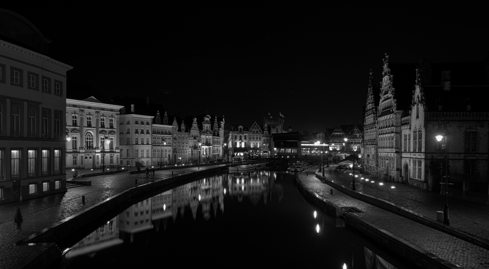 Graslei and Korenlei, Belgium