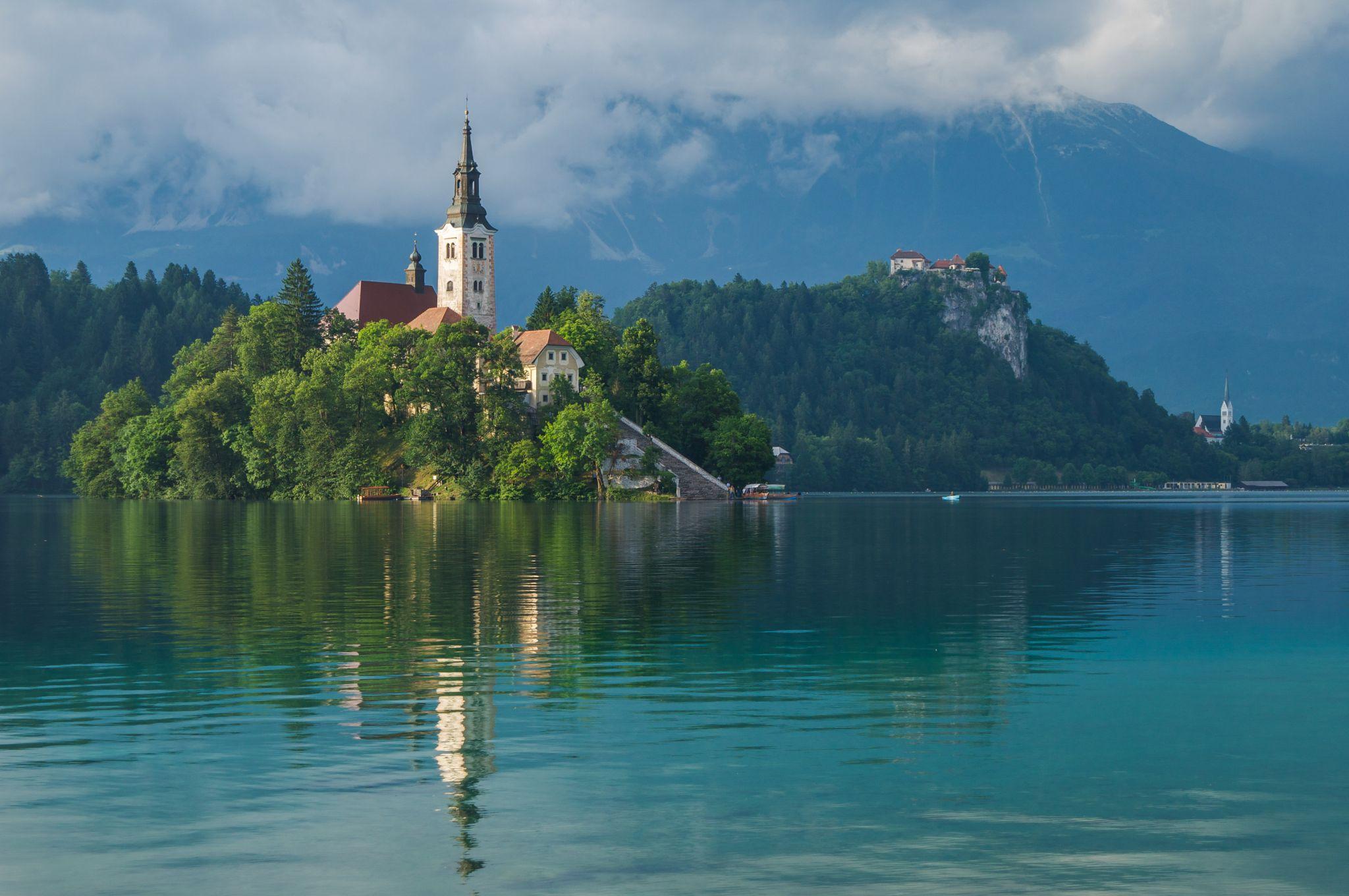 South Side Lake Bled, Slovenia
