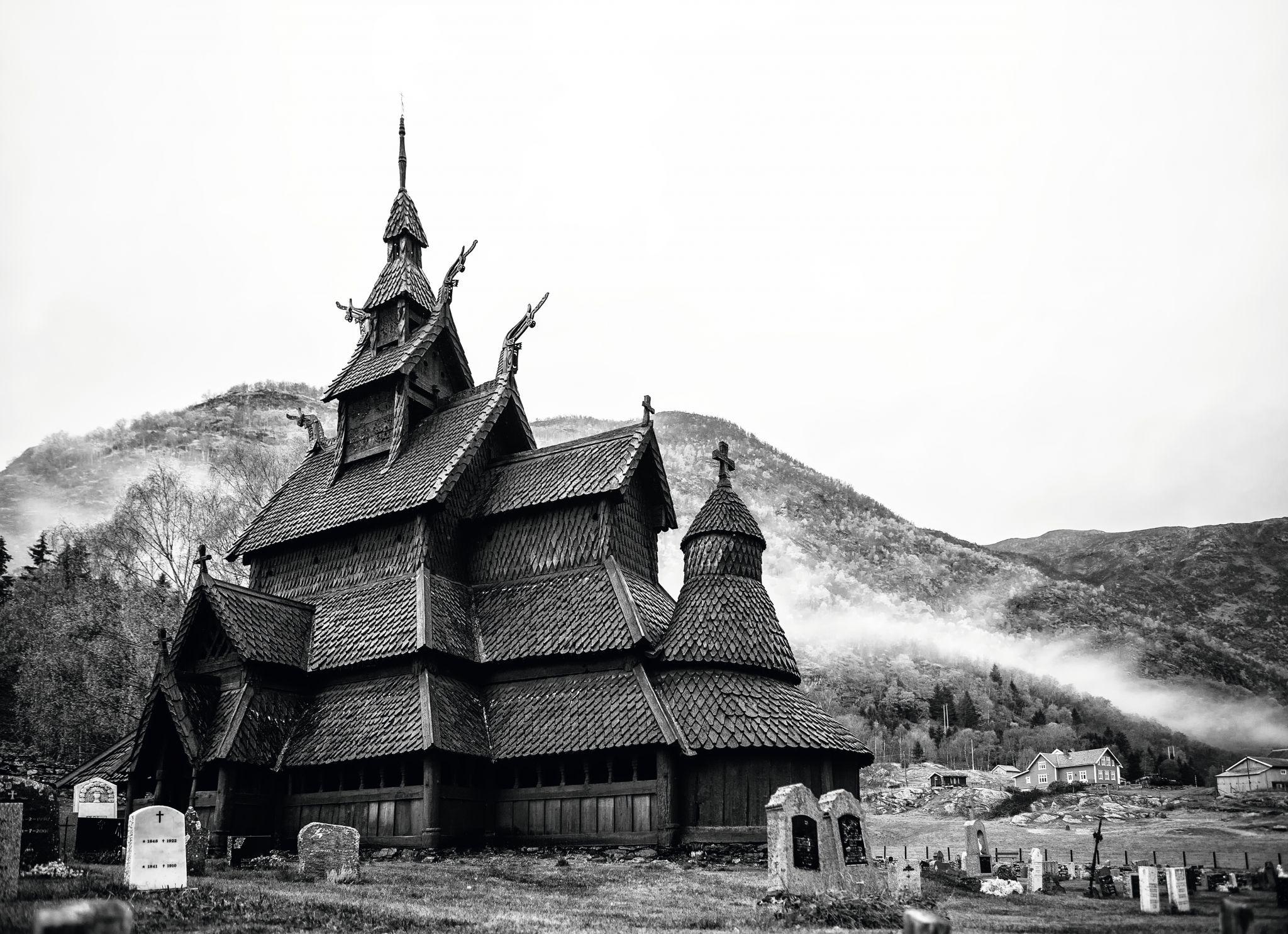 Stavkirke Borgund, Norway