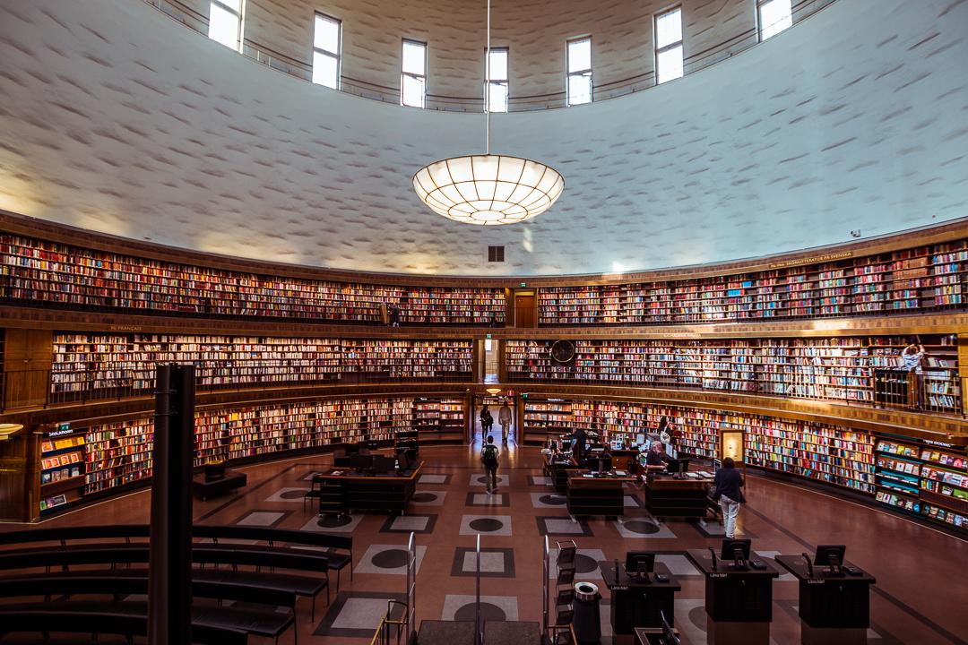 Stockholm Library, Sweden