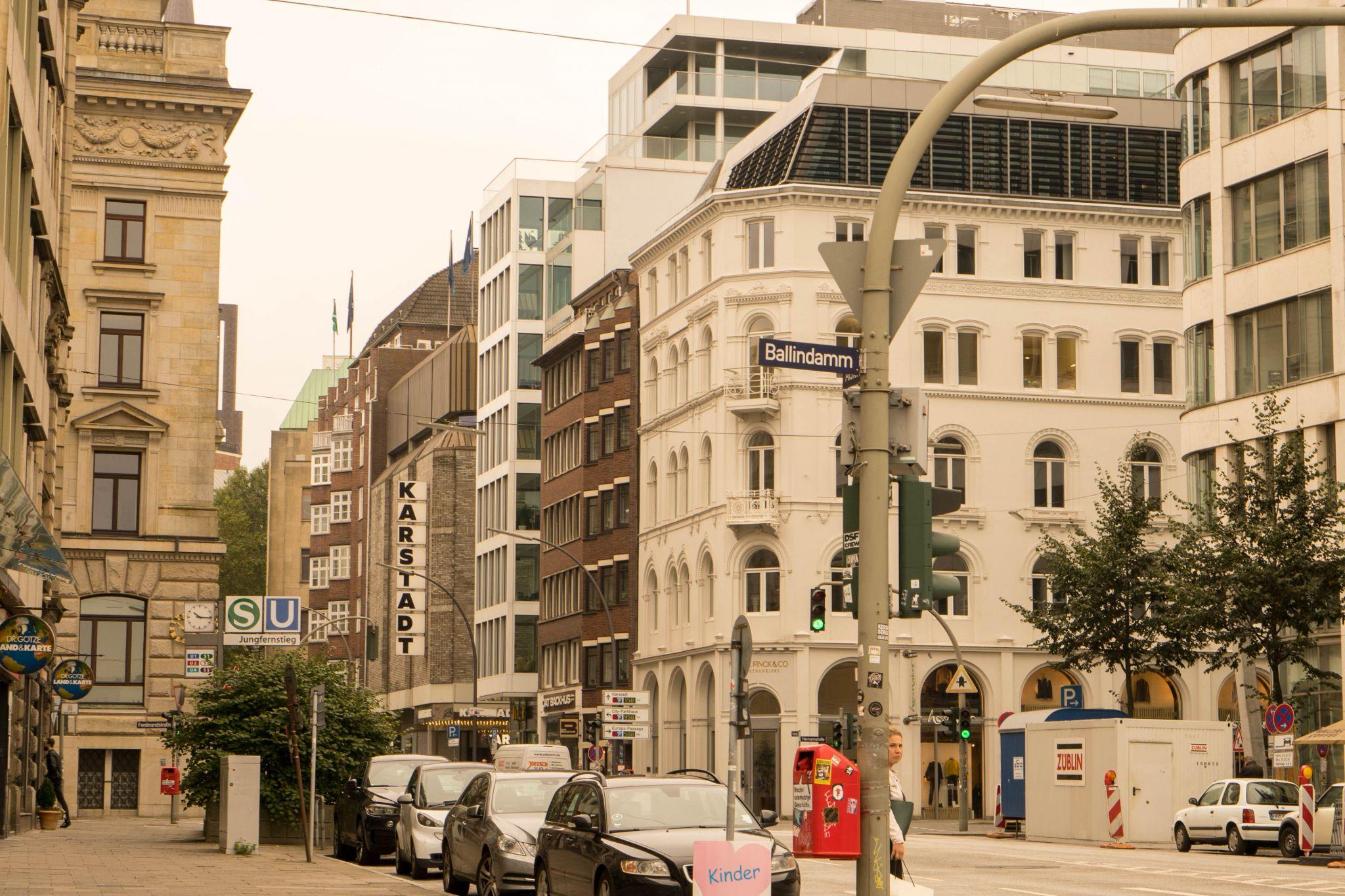 Street in Hamburg, Germany