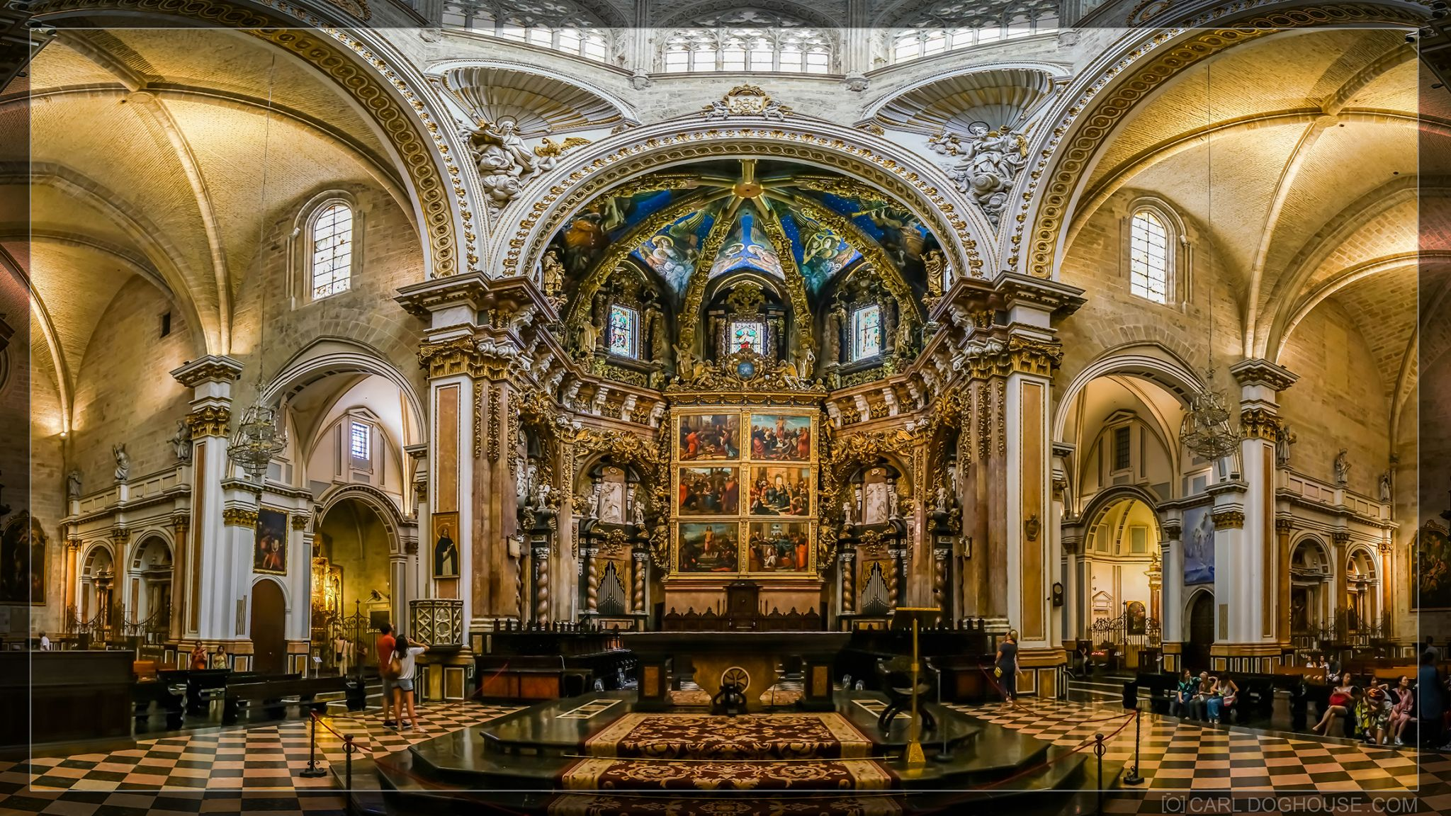 Valencia Cathedral, Spain
