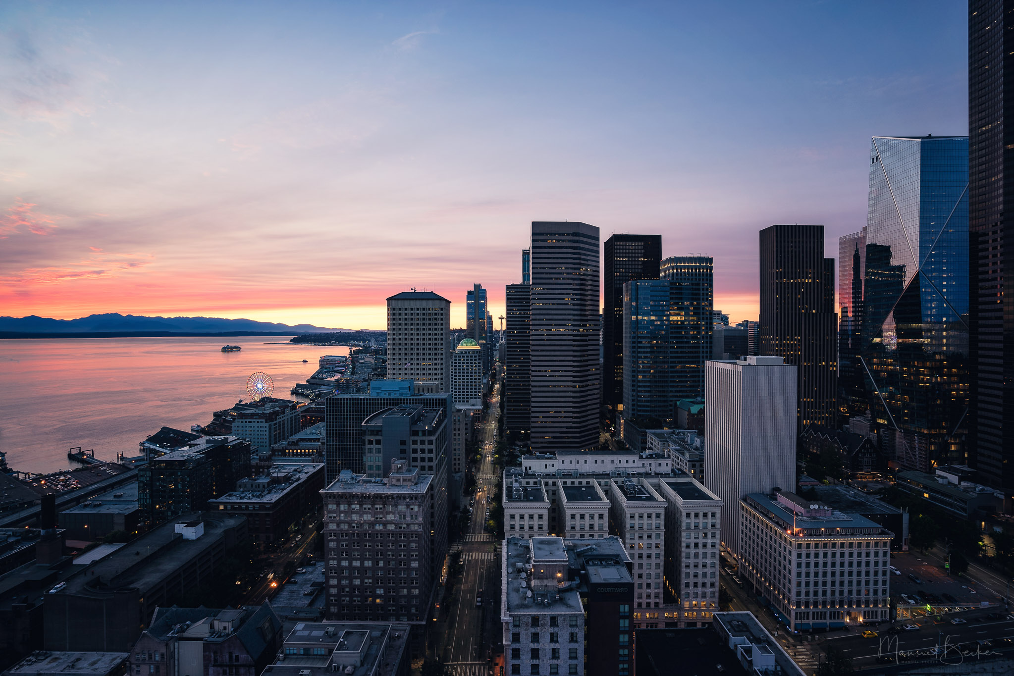 View from Smith Tower, Seattle, USA