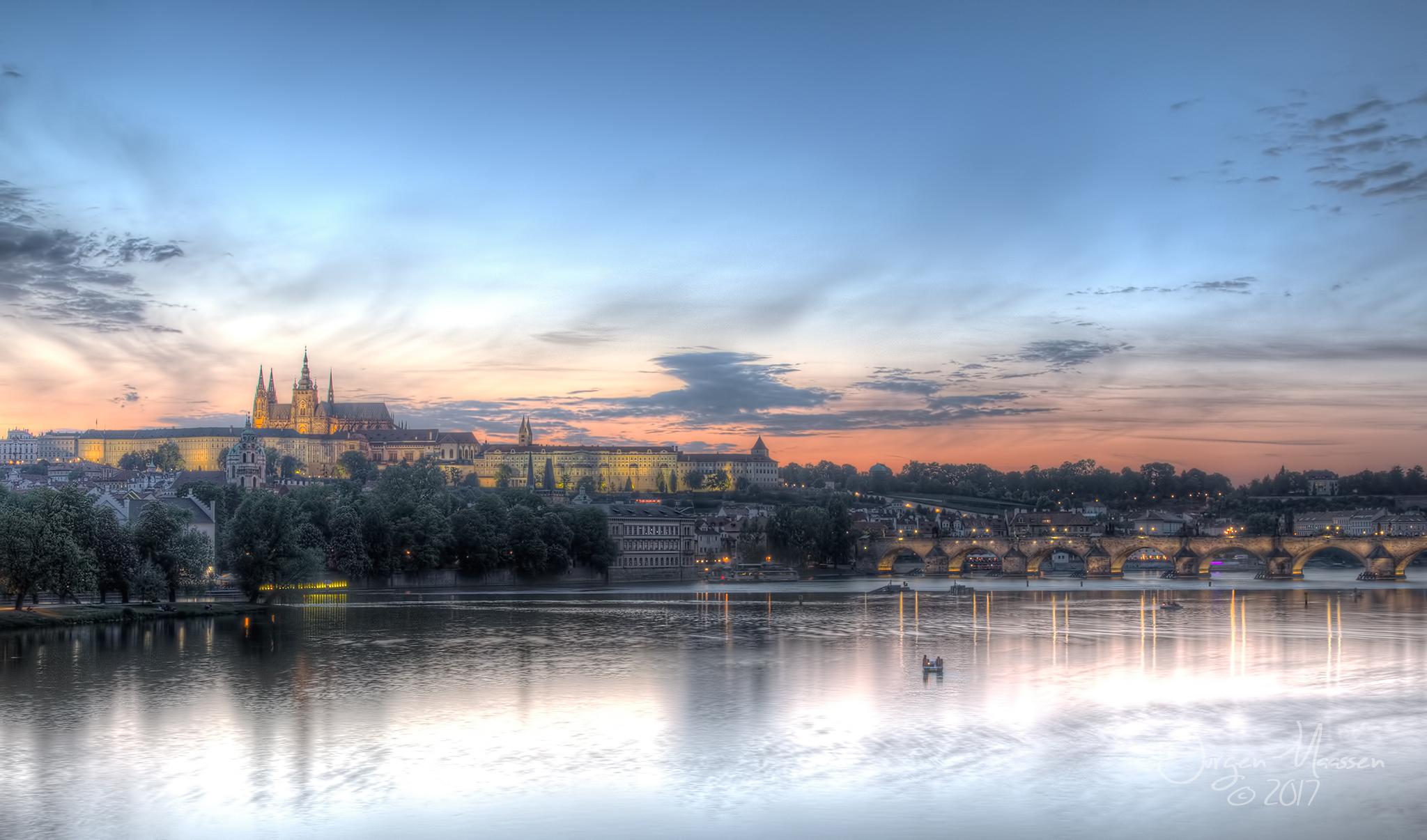 View on Prague., Czech Republic