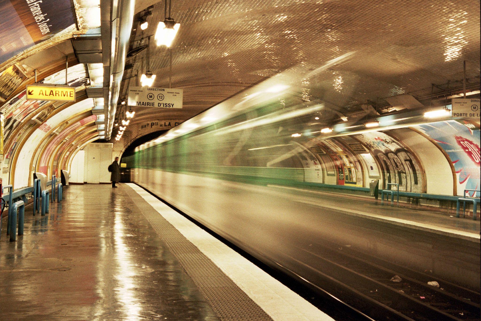 Abbesses Métro Station, France