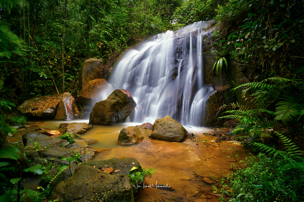 Aleng Waterfall, Malaysia