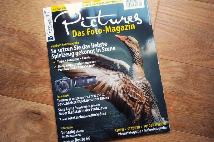 Get published in the next issue of the Pictures Magazin!