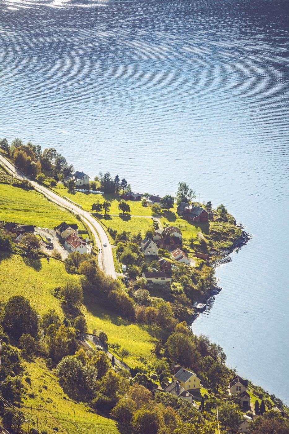 Aulandsfjord, Norway