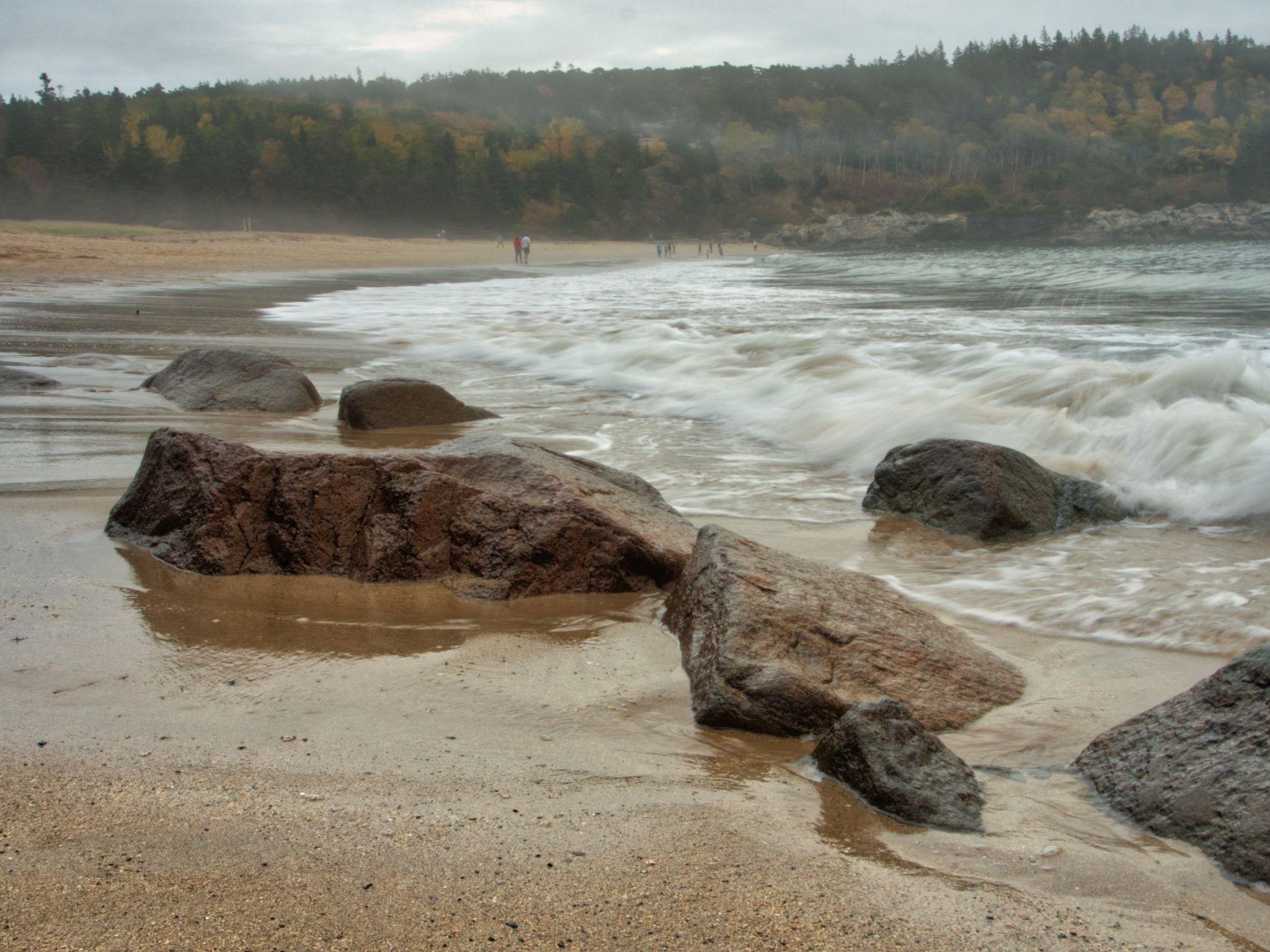 Beautiful Sand Beach, USA