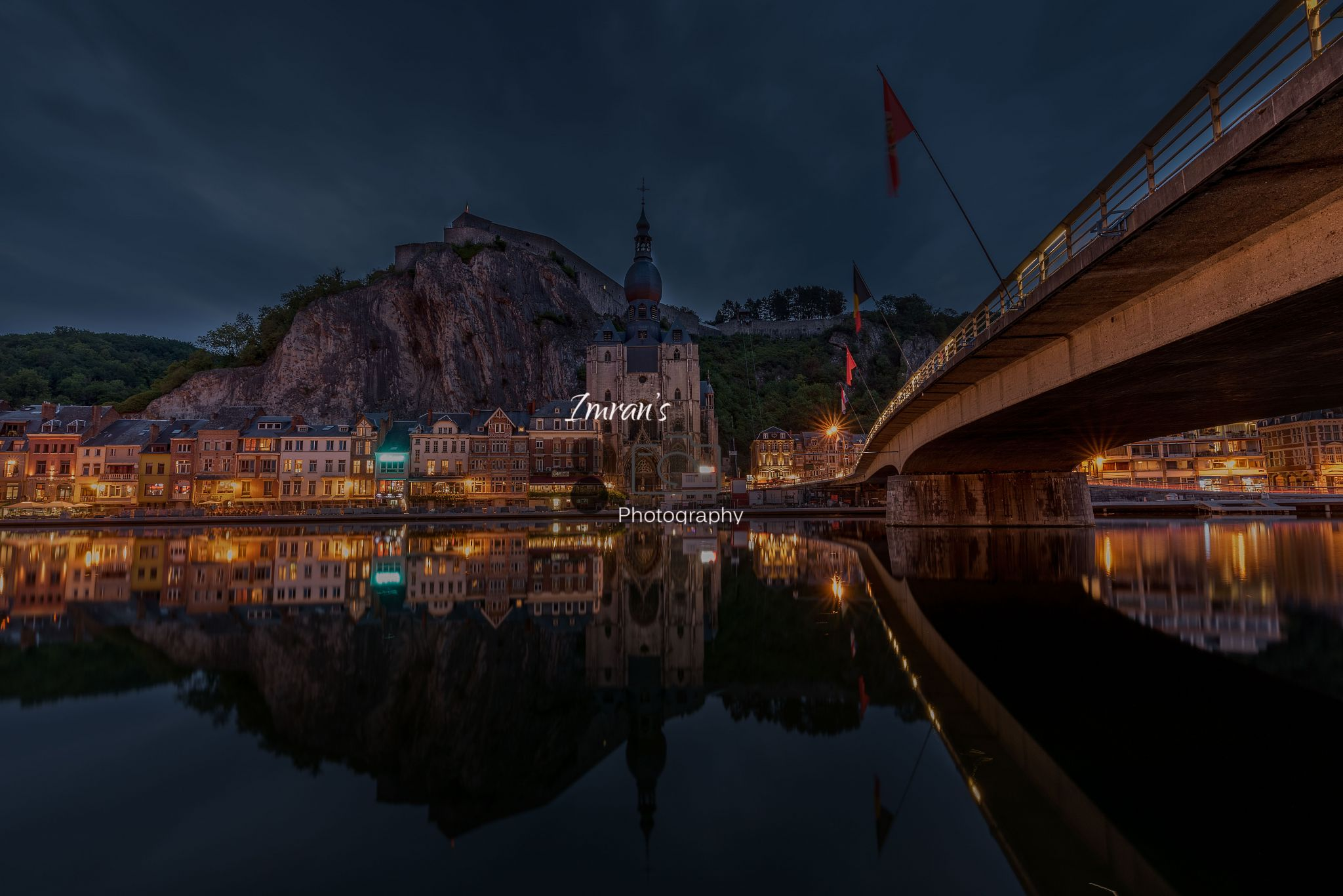 Dinant, Cathedral Photopoint, Belgium
