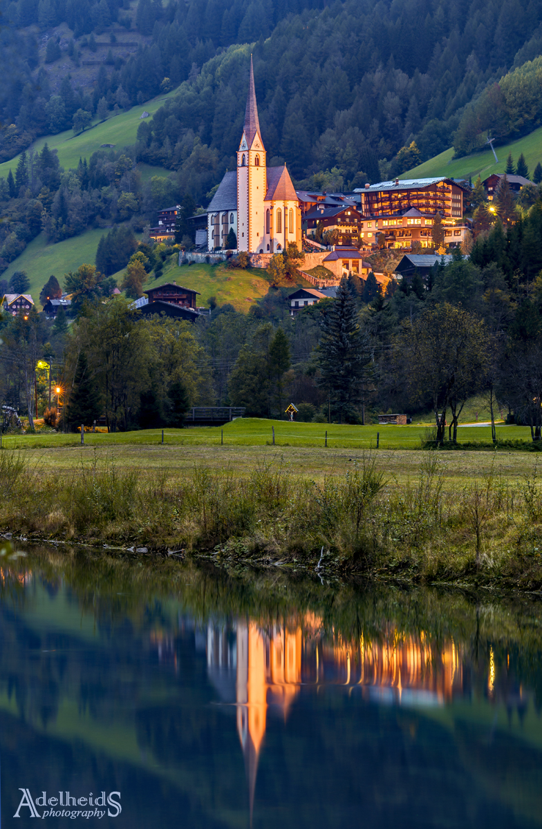 Heiligenblut reflections, Austria