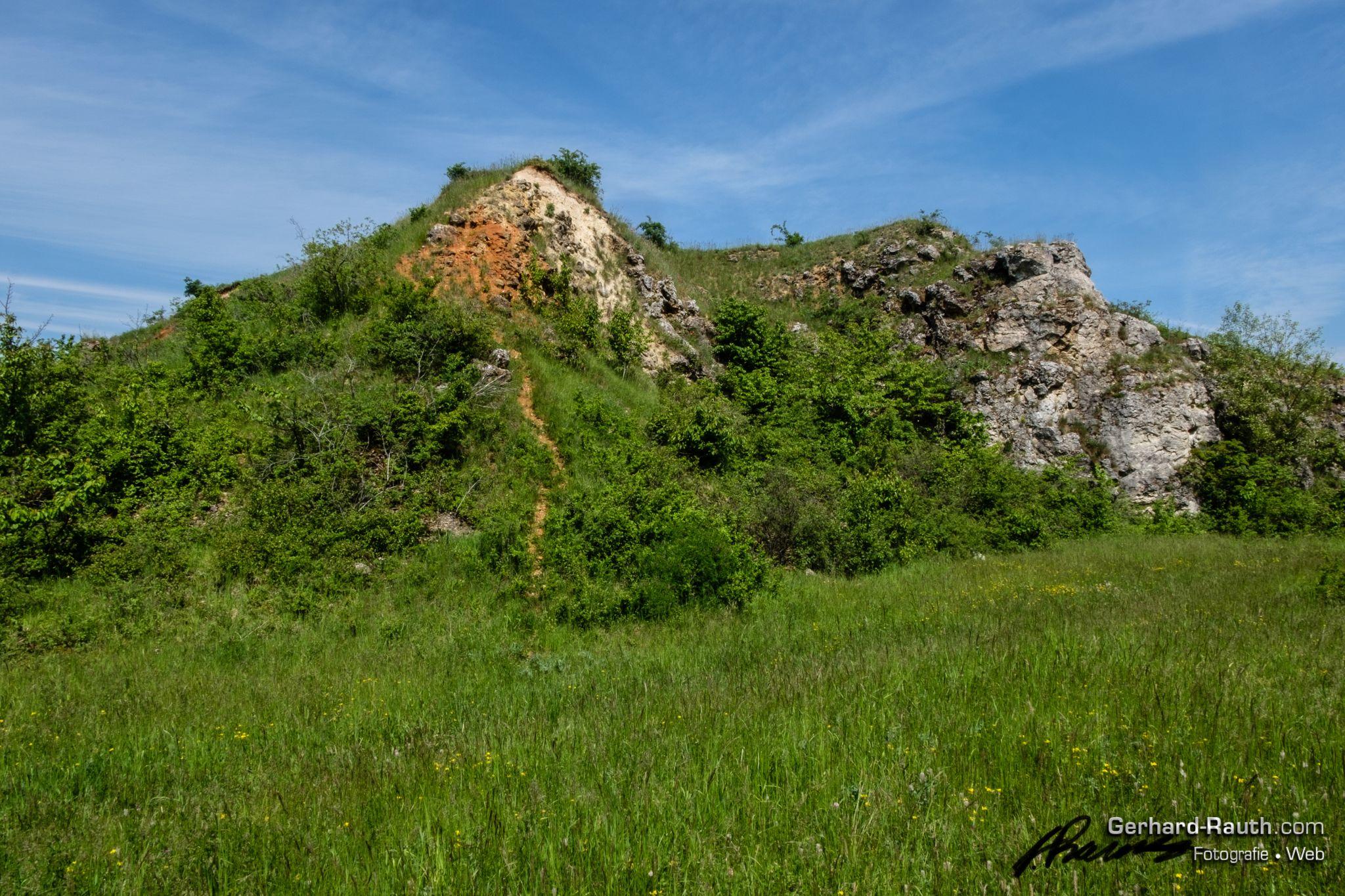Kalksteinbrüche Rosengarten - limestone quarries Rosengarten, Germany