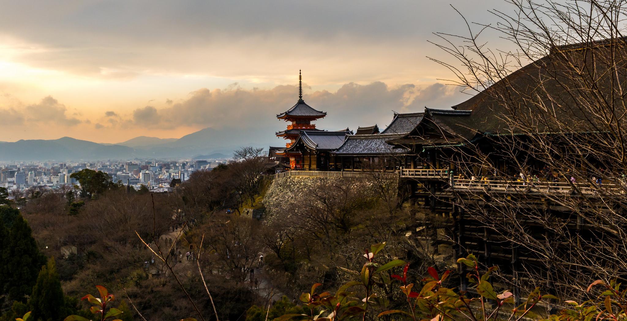 Kiyomizudera Kyoto, Japan