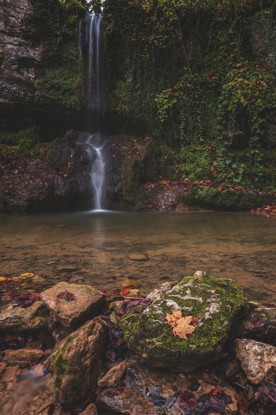 Linnbach Wasserfall, Switzerland