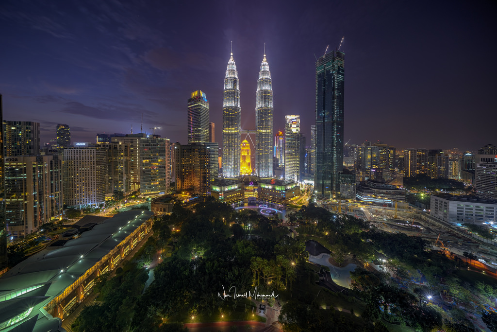 Petronas Towers - Traders Hotel viewpoint, Malaysia