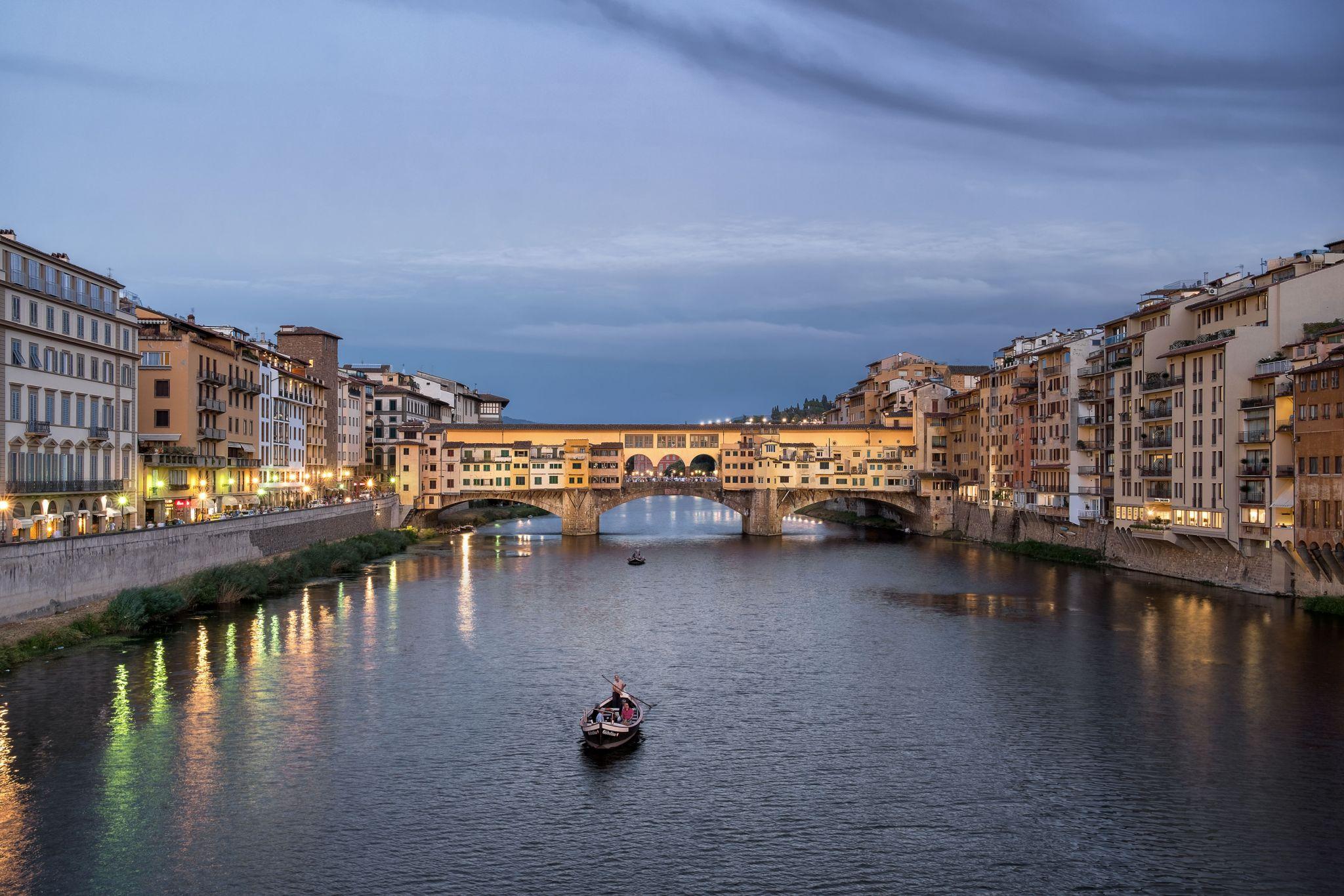 Ponte Vecchio - Old Bridge, Italy