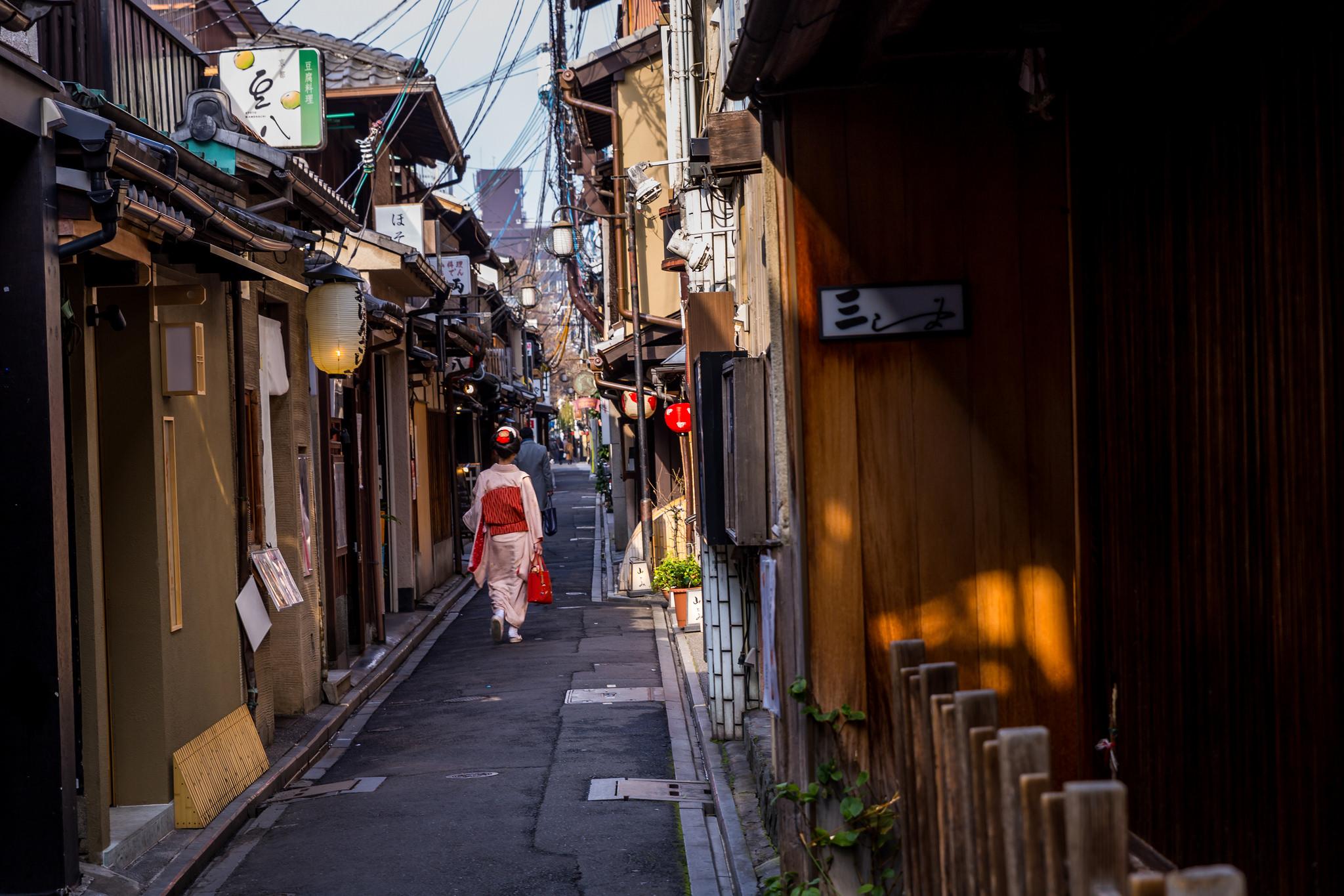 Ponto Cho Kyoto, Japan