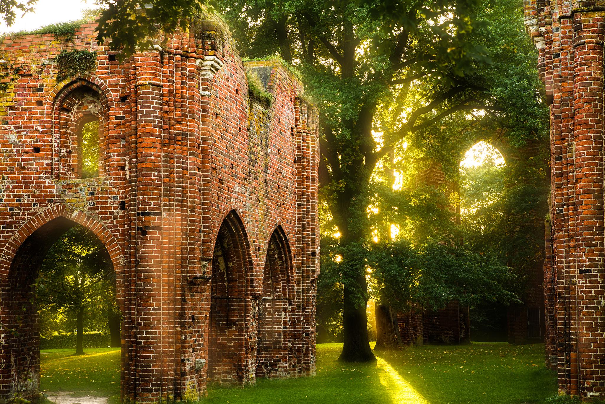 Ruin of Eldena Abbey, Germany