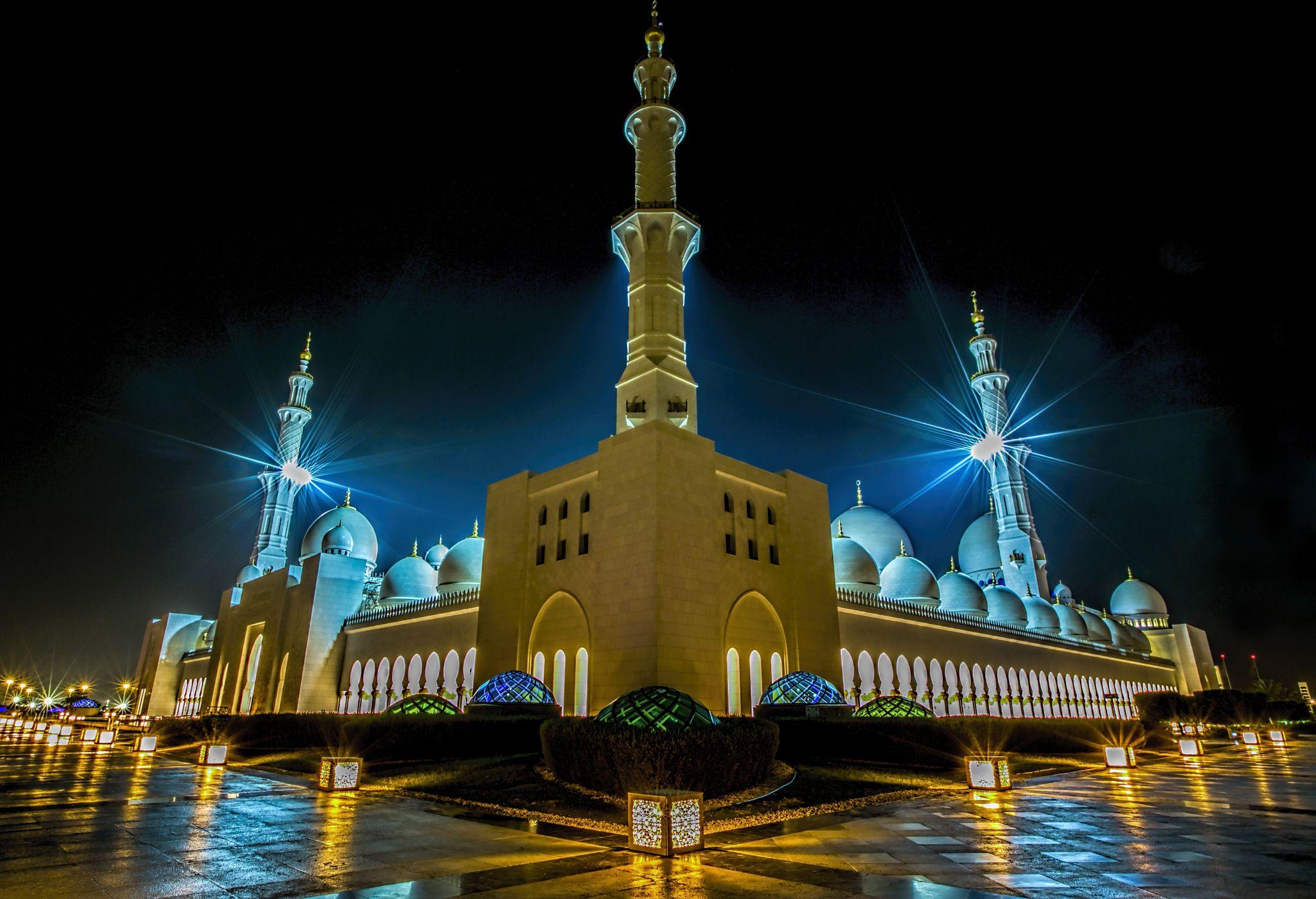 Sheikh Zayed Grand Mosque, Abu Dhabi, UAE, United Arab Emirates