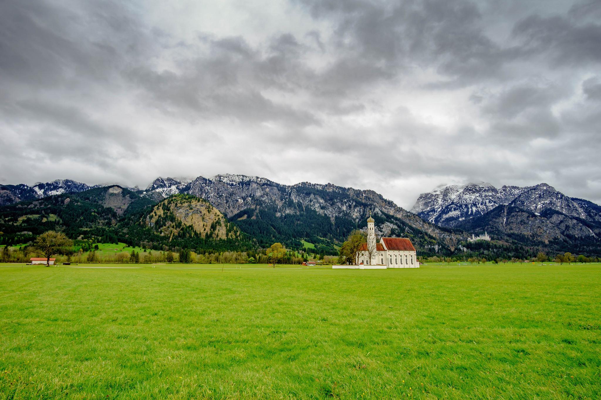 St. Coloman Chruch & Neuschwanstein, Germany