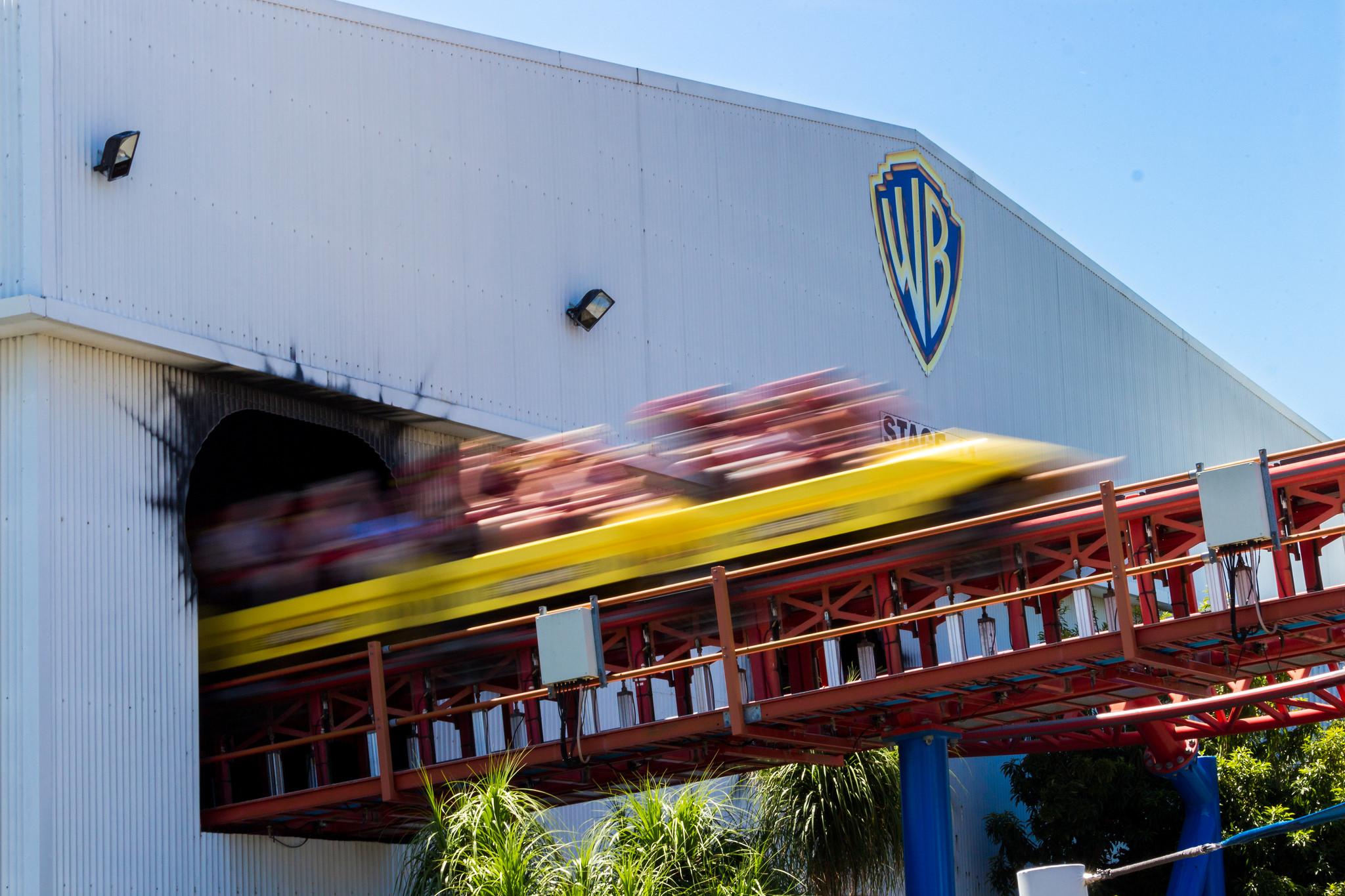 Superman Coaster - Warner Brothers Movie World, Australia
