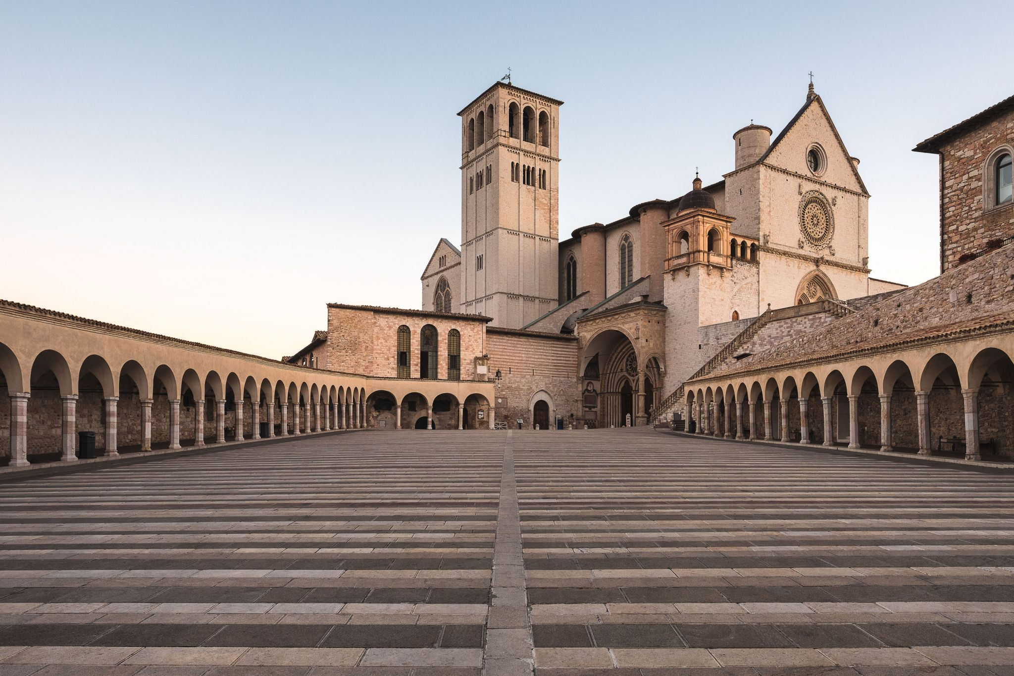 The Basilica of San Francesco, Italy