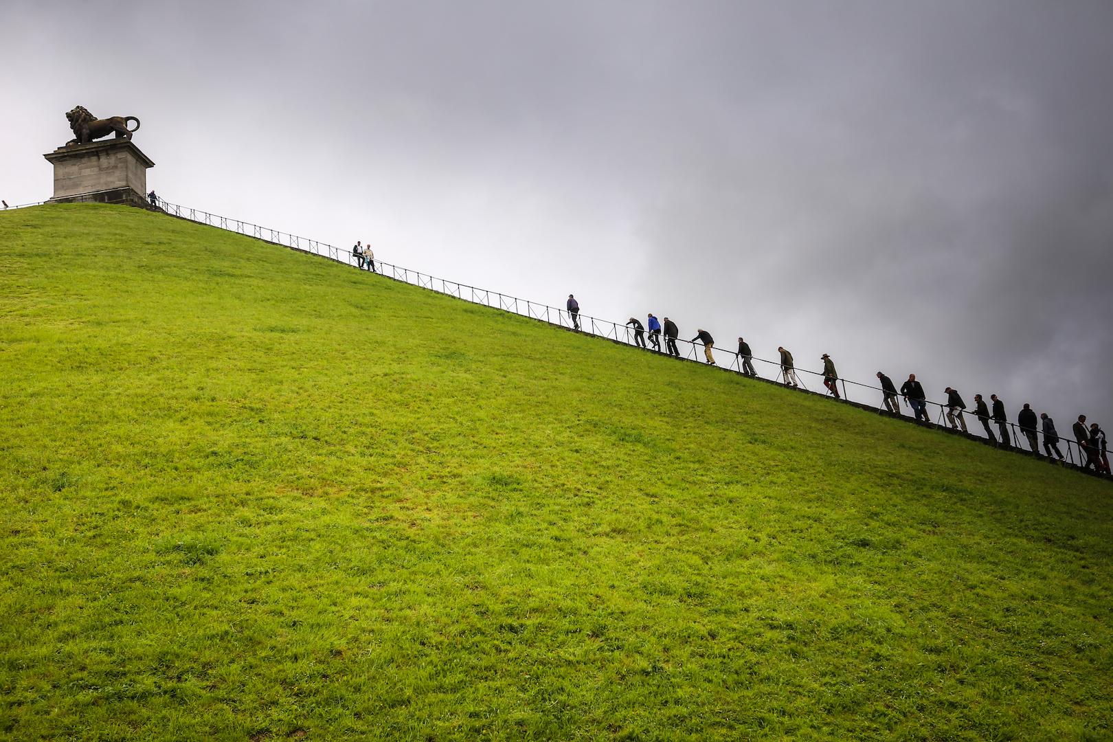 Waterloo Hill, Belgium