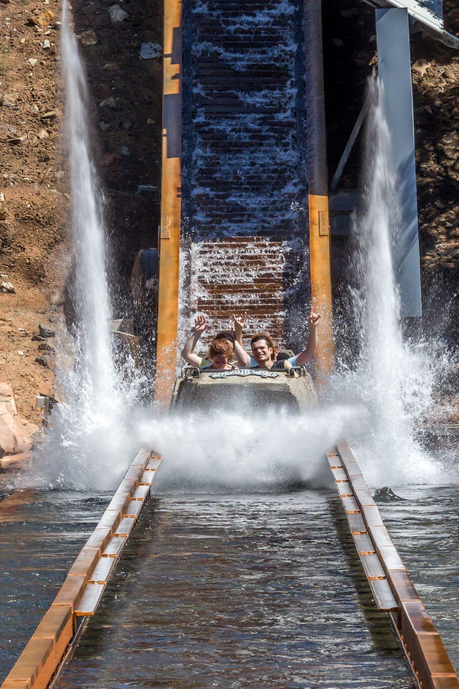 Wild West Falls at Warner Brothers Movie World, Australia