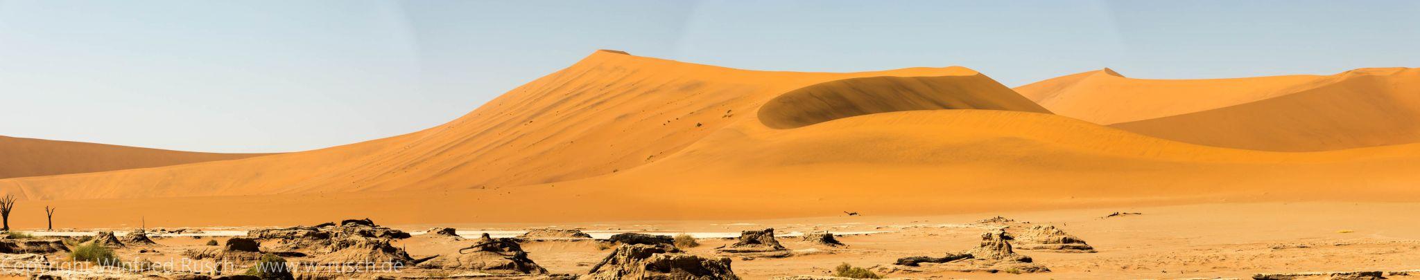 Dünenlandschaft in Namibia, Namibia