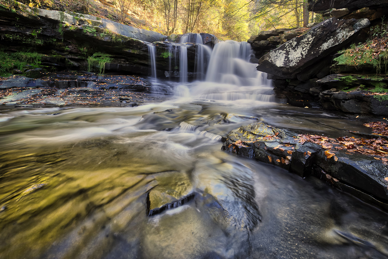 Dunloup Falls, USA