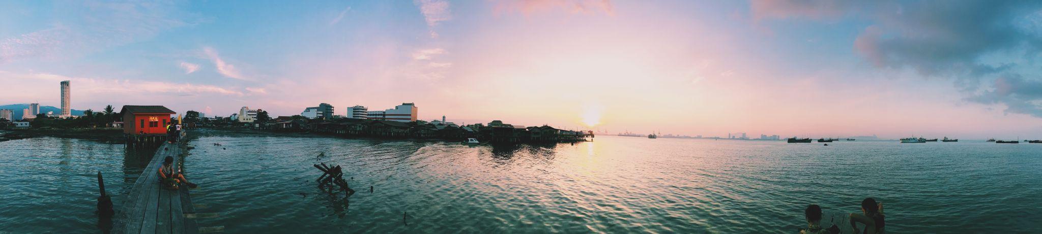 Infamous clan jetty, Malaysia