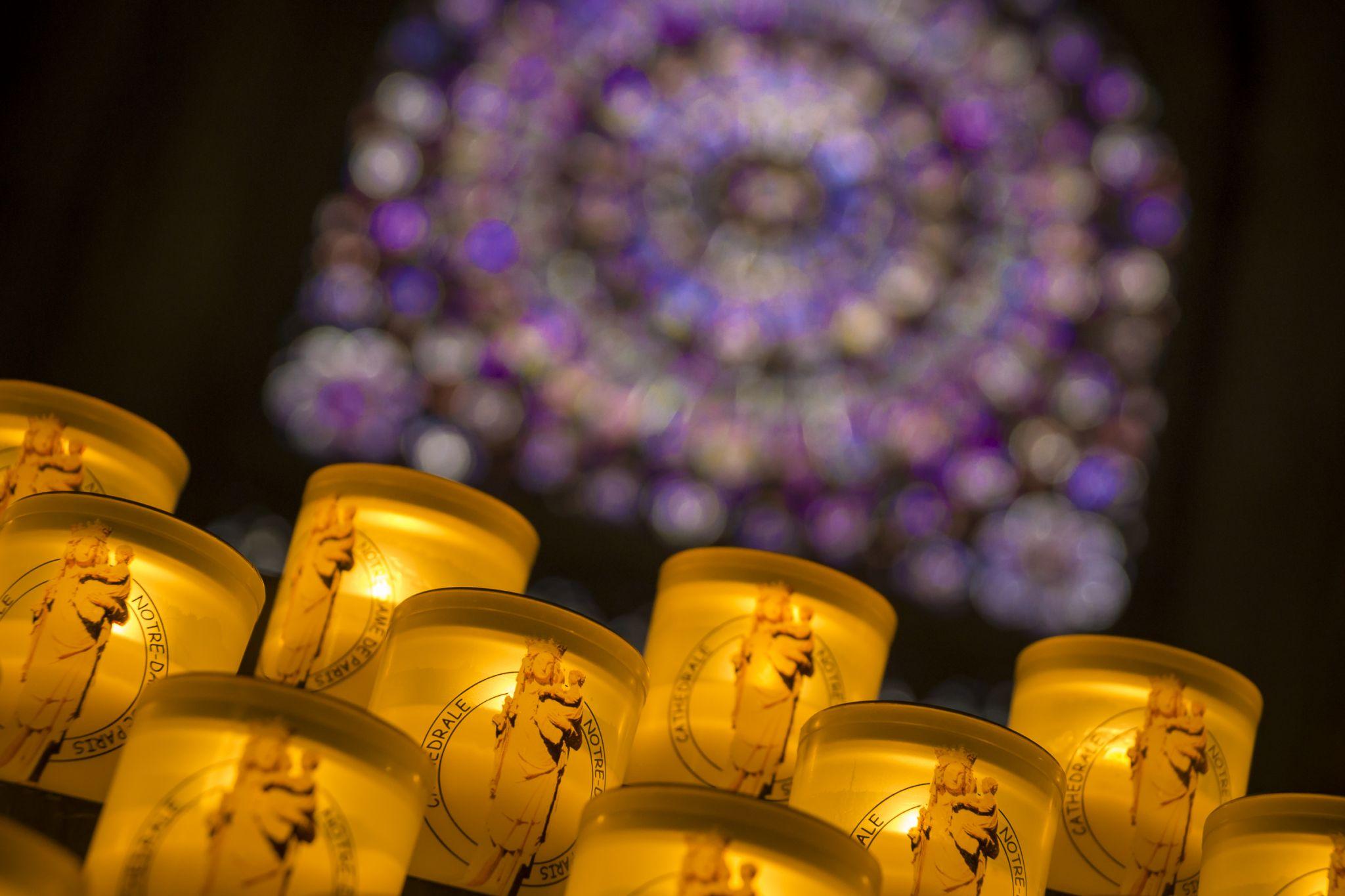 Inside Notre Dame, France