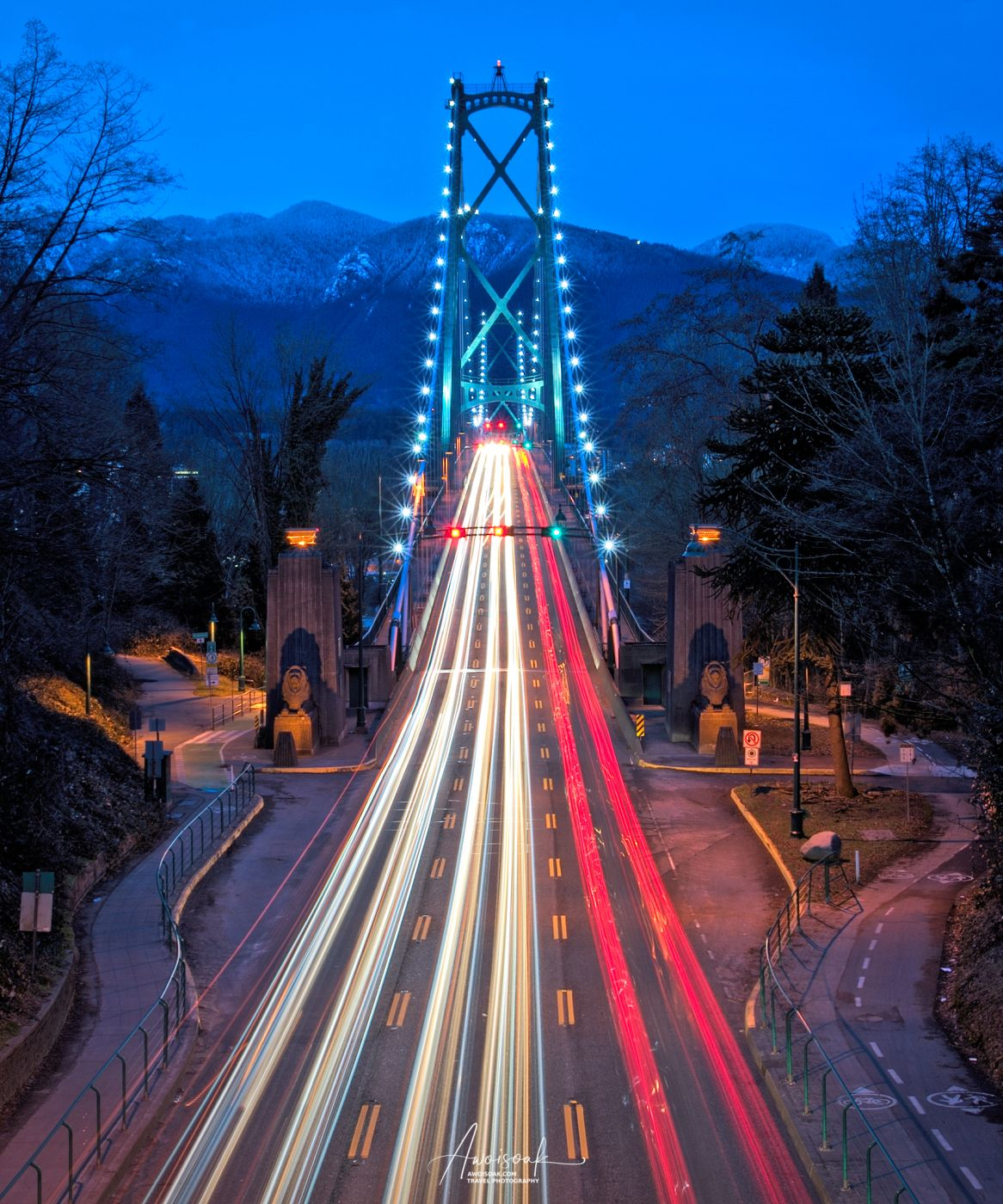 Lions Gate Bridge, Canada
