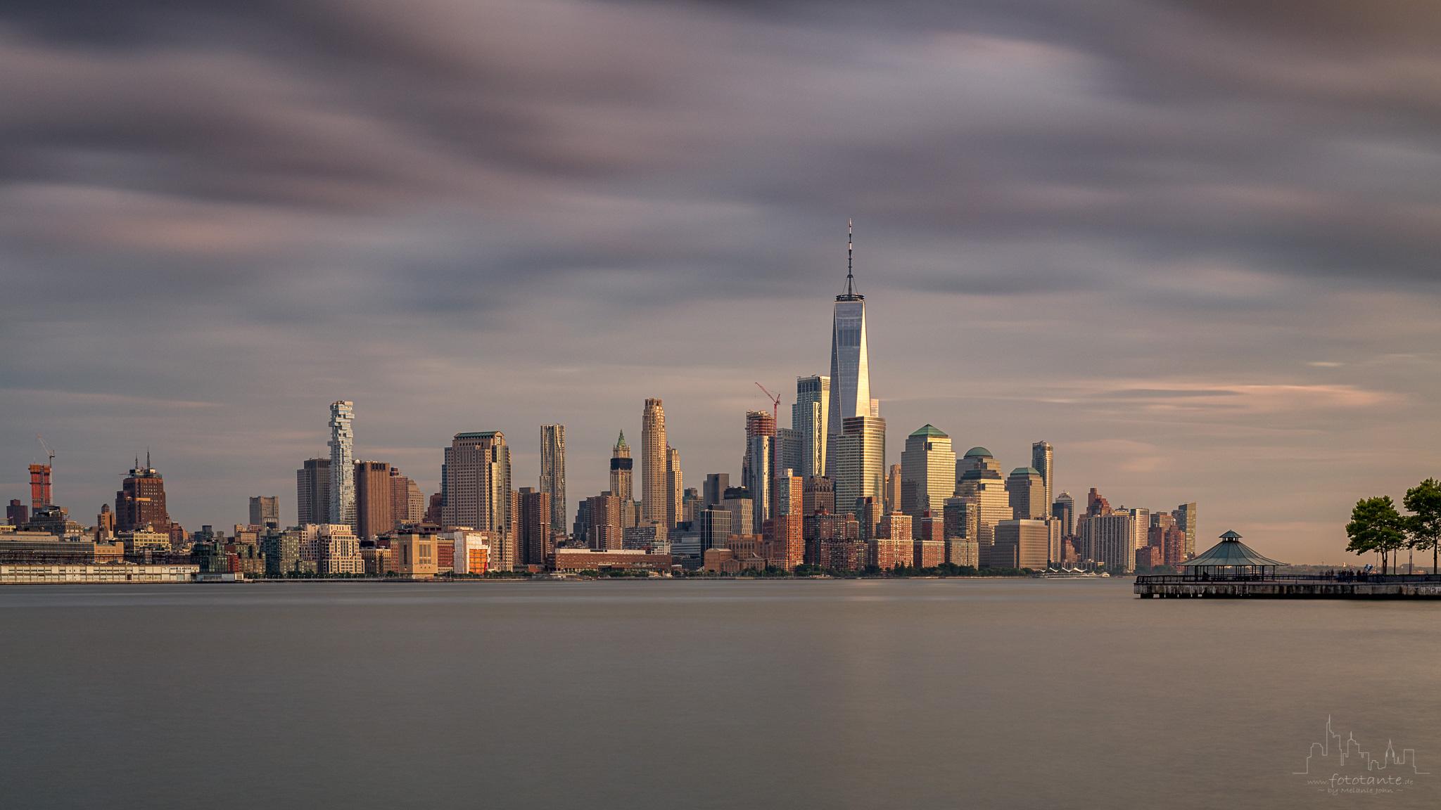 Manhattan view from Hoboken, USA