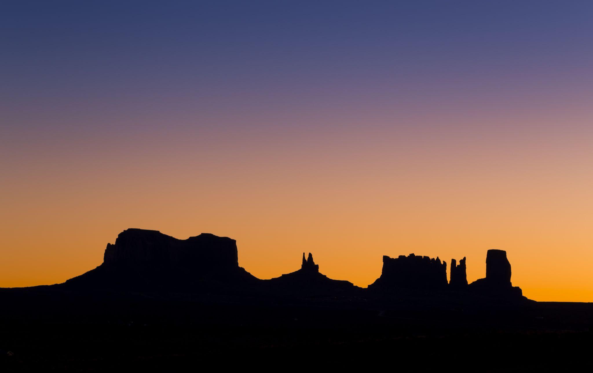 Monument Valley Sunrise, USA