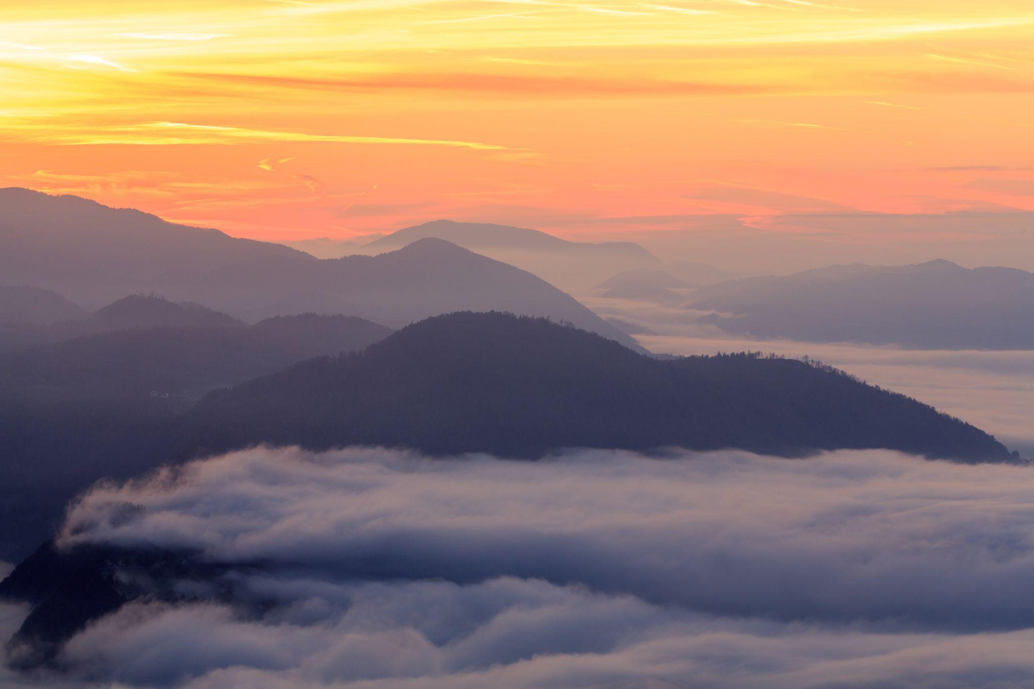 Morning, Slovenia