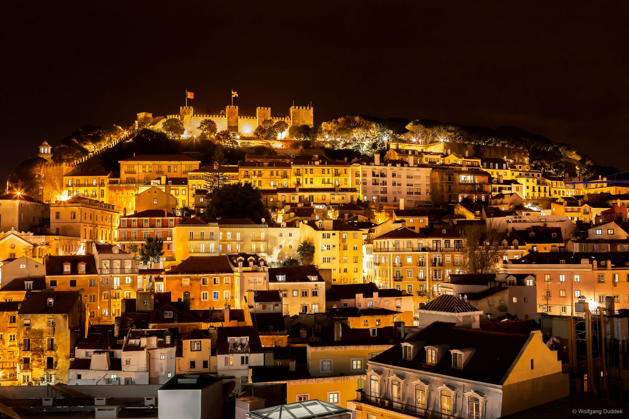 Night view Lisboa, Portugal