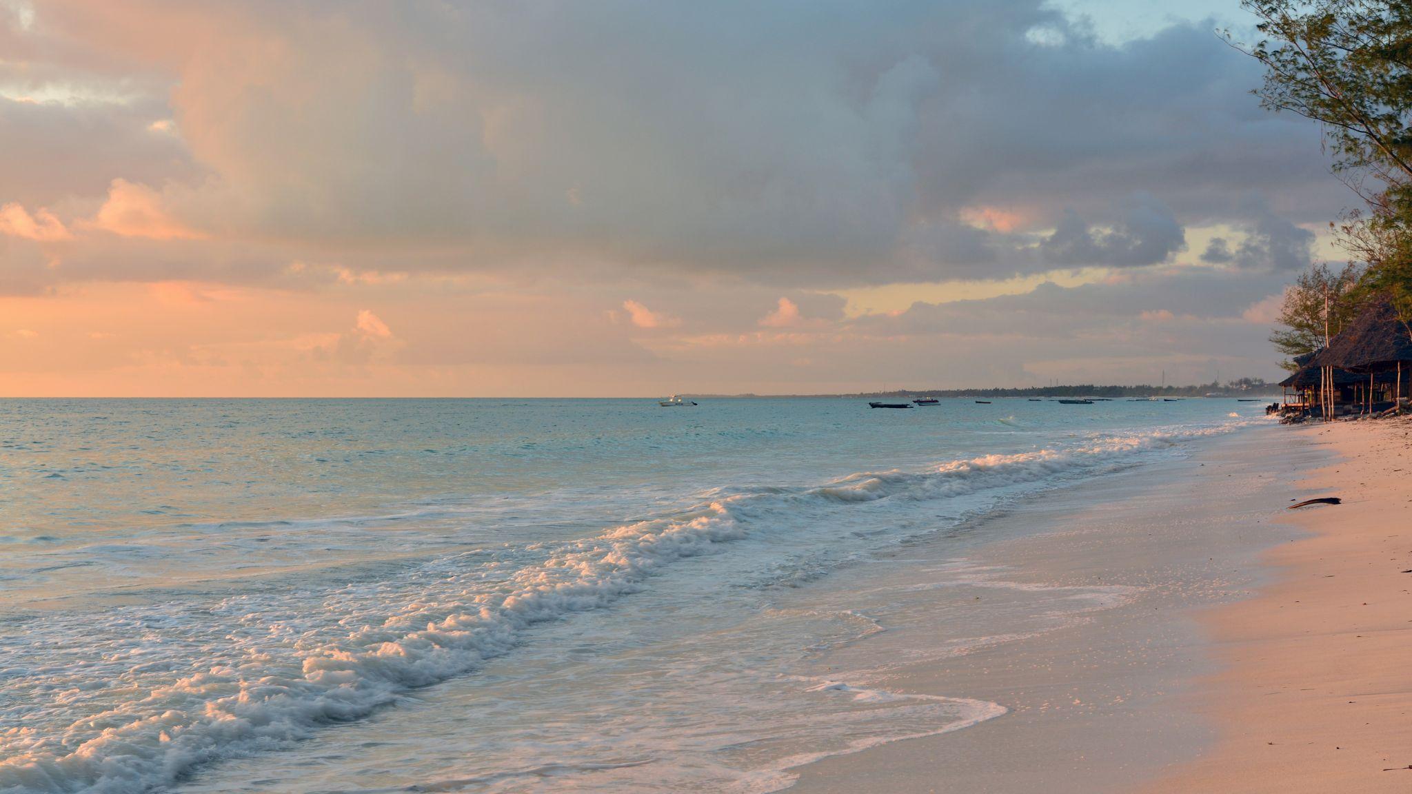 Paje Beach Zanzibar, Tanzania
